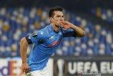 Napoli pertahankan posisi puncak usai menang atas HNK Rijeka di Liga Europa