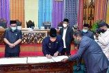 Bupati Bengkalis teken KUA-PPAS bersama DPRD