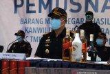 Pandemi COVID-19 pengaruhi penerimaan cukai rokok-minuman beralkohol