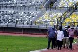Renovasi luar stadion GBT Kota Surabaya dikebut jelang Piala Dunia U-20