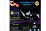 BMKG:Puncak Gerhana Bulan Penumbra terjadi 30 November 2020