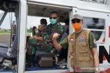 Danrem dan Pjs Gubernur patroli udara pantau karhutla dan banjir