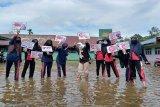 Pelajar di Bartim dibekali pendidikan pemilih saat Pilkada Kalteng 2020