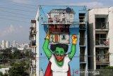 Brazil prioritas vaksinasi manula, warga suku, petugas kesehatan