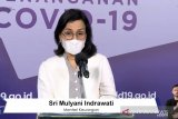 Sri Mulyani: Anggaran PEN terealisasi Rp431,54 triliun