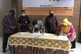 Tujuh desa KRB III Merapi di Sleman tanda tangan rencana kontingensi erupsi Merapi