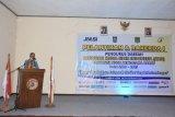 Pj Sekda KLU menghadiri pelantikan pengurus JMSI NTB