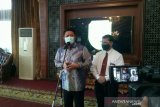 Gubernur Sumsel serahkan  DIPA dan TKDD 2021