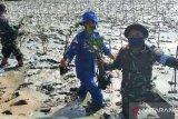Satuan Kepolisian Air tanam mangrove cegah abrasi pantai