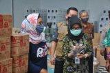 Pemkab Pekalongan mengecek APD pemilu antisipasi  klaster baru
