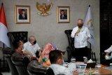 DPD, Menteri PUPR dan Gubernur NTB menggelar rakor pembangunan Mandalika