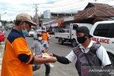 BPBD Minahasa Tenggara bagikan 2.500 masker bagi warga