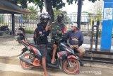 Babinsa Kodim Kendari patroli prokes COVID-19 di pelabuhan