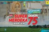 Animo tinggi, diskon tambah daya Super Merdeka untuk UMKM dan IKM kembali diperpanjang hingga 31 Desember 2020