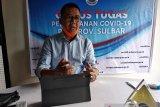 Jubir Satgas: Sekprov Sulbar positif COVID-19