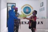 Lanal Melonguane bakti sosial  pulau terluar Miangas