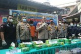 Polisi mengungkap jaringan baru narkotika Malaysia-Aceh-Medan-Palembang