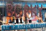 Bea Cukai Palangka Raya musnahkan senpi dan puluhan ribu batang rokok