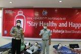 Sambut HUT ke-60, Jasa Raharja Sulut gelar bakti sosial donor darah