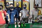 Operasi cipta kondisi Polsek Kolaka amankan Miras dan Sajam