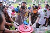 Polda NTB memusnahkan belasan kilogram sabu-sabu dan ganja
