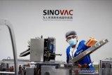 WHO setujui vaksin kedua China yang terdaftar, Sinovac