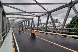 Jalan Jembatan Paralel Landak retak, Pemkot minta perbaikan segera