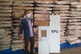 KPU Bantul masih melakukan pengepakan logistik Pilkada 2020