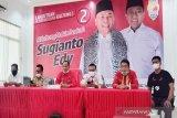 Tim pemenangan Sugianto-Edy libatkan 12.090 saksi di TPS