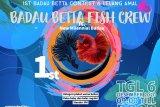 Kontes ikan cupang dipusatkan di Pasar Wisata Badau perbatasan RI-Malaysia