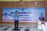 Plt Bupati Lombok Utara silaturahmi dengan pimpinan media