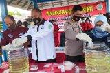 Polda Kalteng musnahkan 1.018 gram sabu hingga pil ekstasi