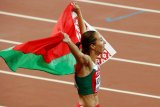 Pelari Belarusia Arzamasova diskors 4 tahun karena kasus doping
