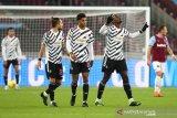 Pogba cetak gol perdana musim ini, MU libas West Ham 3-1