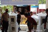 Polisi kawal pendistribusian surat suara di wilayah Palu Utara dan Tawaeli