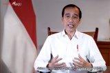 Presiden Jokowi jalani vaksinasi COVID-19 pertama di Indonesia
