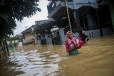 Banjir Akibat Sungai Meluap Di Lebak