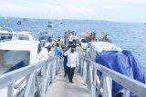 Bupati Najmul resmikan pengoperasian kembali Pelabuhan Teluk Nara