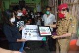 Bupati Minahasa  serahkan BPJSAMSOSTEK aparat desa meninggal Rp42 juta