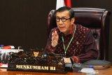 Menkumham sebut Indonesia belum miliki regulasi konvergensi media