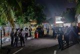 Polisi sterilkan ruang jenazah RS Polri dari kerumunan wartawan peliput