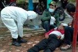 Seorang pemilih di Desa Soso-Blitar Jatim terjatuh lalu meninggal dunia