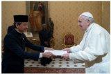 Paus Fransiskus terima Dubes RI untuk Vatikan