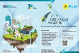 Apresiasi insan pers, PLN gelar Journalist Award 2020