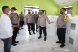 Supervisi Operasi Mantap Praja Polri kunjungi Polres Palu pasca Pilkada