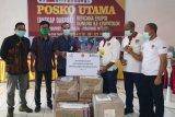 PLN NTT salurkan bantuan bahan pokok-masker untuk pengungsi  Lembata
