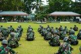 Yonif 131/Brajasakti dukung tugas pengamanan perbatasan RI-PNG