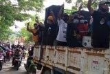 Ribuan warga demo KPU Morut tolak pemungutan suara ulang