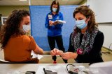AS berikan vaksin booster Pfizer