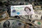 Dolar AS jatuh saat prospek ekonomi Eropa membaik dan  komoditas naik